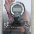 Zon STOPWATCH excercise time hourly chime and daily alarm 1/100th second timing