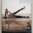 ZON ANKLE WRIST WEIGHTS TWO 2.5 LB Adjustable excercise leg fitness weight NEW
