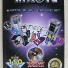 Fantasma Magic Astounding magic book Over 150 cool tricks to learn BOOK ONLY NEW
