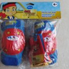 Jake and The Never Land Pirates Protective Gear ( knee, elbow pads with gloves )
