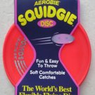 Aerobie Squidgie the world's best flying disc # A22 RED soft throw catches NEW t