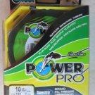 Power Pro Spectra Braid 10 lb 150 yards Line Fishing Rounder HI VIS YELLOW NEW f