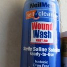 NeilMed Neil Cleanse Wound Wash First Aid Spray 6 oz. Exp 8/2016 Sterile Saline