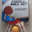 Franklin Sports 2 Player Paddle & 3 Balls Set ( Paddle in RED and BLUE ) ping po