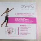 Zon 4 lb Weighted Walking Belt Excercise Walk Weight PINK breast cancer women NE