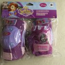 Disney Sofia the First Protective Gear ( Knee + Elbow and Gloves ) Pads purple N