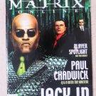 The Official Magazine MATRIX online Player spotlight Paul Chadwick Jack in behin