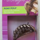 Goody simple styles Pony Pouf clip LIGHT HAIR 2 easy styles girl women gift NEW