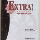 EXTRA! Mainframe For Windows APPC Client User's Manual Attachmate EXTRA book onl