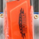 TWO Shoreline Marine FLAT Safety Whistle with Lanyard SL52285 outdoor Orange ca