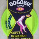 """Dogobie flying disc Excercise for you and your dog A28 YELLOW Aerobie 8"""" dog toy"""
