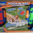 Banzai Aqua Blast Deluxe Pack 2 mega water blasters 2 inflatable body boards NEW