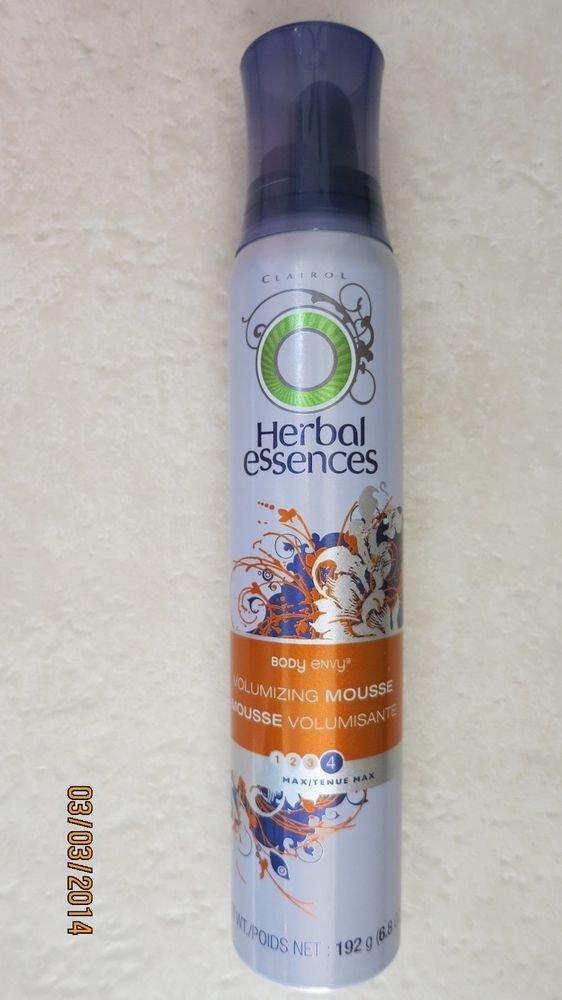 HERBAL ESSENCES Body Envy Volumizing Mmoosse 6.8 oz ( 192 g ) hair MAX Clairol N
