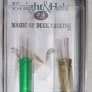 Knight & Hale Game call Magic of Duck Calling DVD Double & Single Reed KH5101 NE