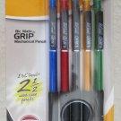 BIC Mechanical Pencils Matic GRIP 5 pencil Medium 0.7 mm #2 Ref# 40441 3 leads p