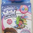 Water Wow Doodle book DORA the Explorer 4 reusable scenes & 1 water brush NEW co