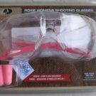 MOSSY OAK ROXIE WOMENS Shooting Glasses Rose with ear plugs Lunettes MO-RWRP NEW