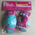 Barbie My Fab Protective Gear ( Knee and Elbow with Gloves ) cute pads GREEN pin