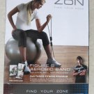 Zon Figure 8 Aerobic Band excercise equipment great gift  ZNBK-F8BND fitness NEW