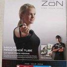 Zon MEDIUM Resistance Tube excercise fitness thrive fitness program health NEW