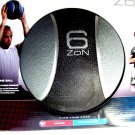 Zon 6 lb Medicine ball Textured Latex rubber surface for solid grip Easy to hand