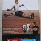 ZON Executive fitness kit Med. Resistance tube Push-up stands sit-up straps hand