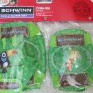 Schwinn Pad & Glove Set ( Gloves , Knee & Elbow pads ) Ride Safe Green boy NEW s