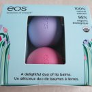 eos Smooth Lip Balm Sphere Easter / Spring 2-Pack Strawberry Sorbet Passion Frui