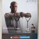 Zon 20 lb HEAVY Resistance Tube excercise fitness thrive fitness program health