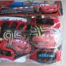 Disney pixar Cars 2 Protection pack ( Knee & Elbow and Gloves ) pad set bike ca