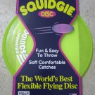 Aerobie Squidgie the world's best flying discs # A22 YELLOW soft throw fun easy