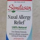 Similasan Nasal Allergy Relief Nasal Mist 20 ml .68 oz Relieves allergic NEW box