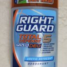 Right Guard Total Defense 5 ARCTIC REFRESH 3 oz. Deodorizing antiperspirant DEO
