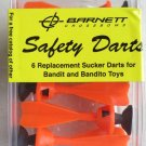 Barnett Crossbows Safety Darts For Bandit and Bandito toys 6 replacement sucker