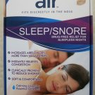 Air Sleep Snore 12 air Fits discreetly in the nose Drug-free relief for sleeples