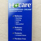 Nelson Homeopathics H+ Care Hemorrhoid Cream 1 oz ( 30 g ) Relief burning ex2016