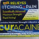 Curacaine Rapid Acting Topical Analgesic Relieves Advanced Itching + Pain 1 oz.
