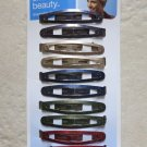 Scunci effortless beauty 91299-H everyday fashion 12 pcs multi-color hair clip N