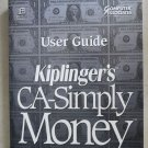 Computer Associates User Guide Kiplinger's CA-Simply Money Simply the Fastest bo