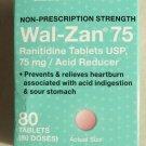 Walgreens Wal-Zan 75 Ranitidine Tablets 75 mg Acid Reducer 80 tablets sour stoma