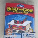 Lowe's Build and Grow CABOOSE building toy hobby wood 2011 hand work kids NEW 5+