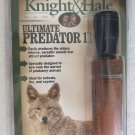 Knight and Hale Game Call Ultimate Predator 1 KH908 for fox bobcats coyotes NEW