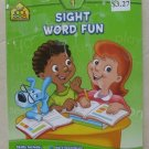 Sight Word Fun grade 1 Deluxe Edition Word recognition inference book pb an I kn