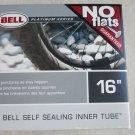 "BELL SELF SEALING BICYCLE BIKE INNER TUBE 16"" No flats 16 "" Flatinum series NEW"