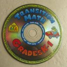 Transition Math Grades K-1 ( PC & Mac , 2002 , School Zone Interactive ) CD only