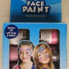 Washable Face paint 6 jars ( .75 fl oz each ) Washes off with soap & water NEW
