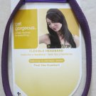 Flexibleheadband Scunci 37596-A headband hair girl Purple Elastic no damage comf