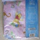 The wonderful world of Disney Fitted Crib Sheet standard size mattress pink pooh
