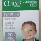 Curad Hospital Quality Eye Patch 20 Regular patches 2 1/4 x 3 1/8 for home healt