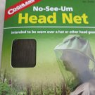 MOSQUITO HEAD NETS ULTRA FINE MESH NO-SEE-UM COGHLAN'S ELASTIC NECK 0160 NEW gea